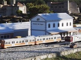 Estacion tren miniatura